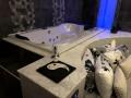 Vasca idromassaggio della Luxury SPA Suite