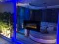 Specchio e Camino della Luxury SPA Suite